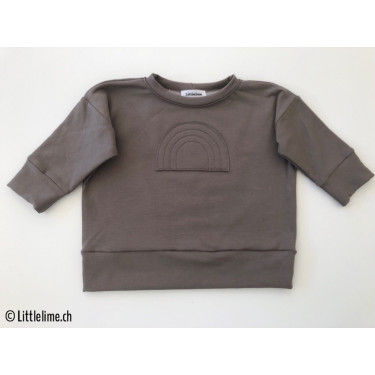 Pullover rainbow dunkles antrazit
