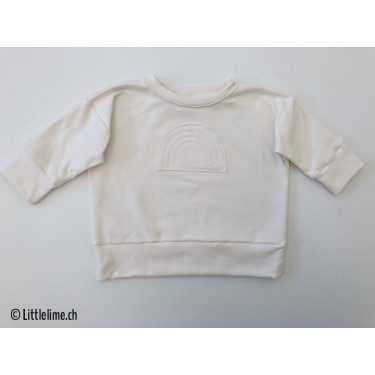 Pullover rainbow offwhite