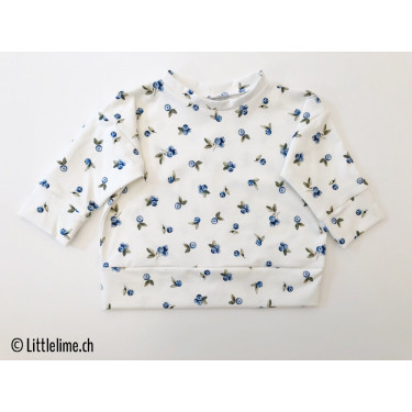 Pullover blueberry