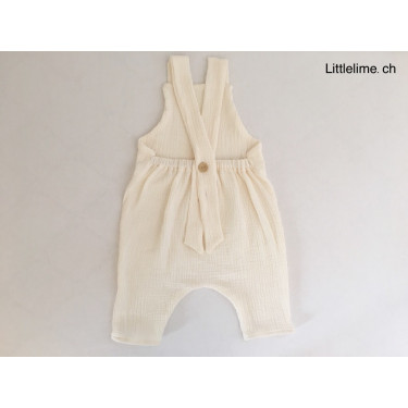 Dungarees Musseline offwhite